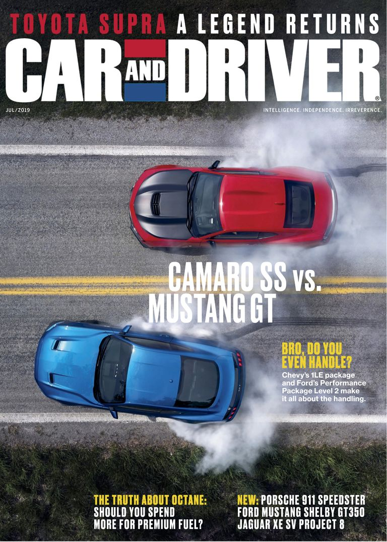 Car And Driver USA – July 2019