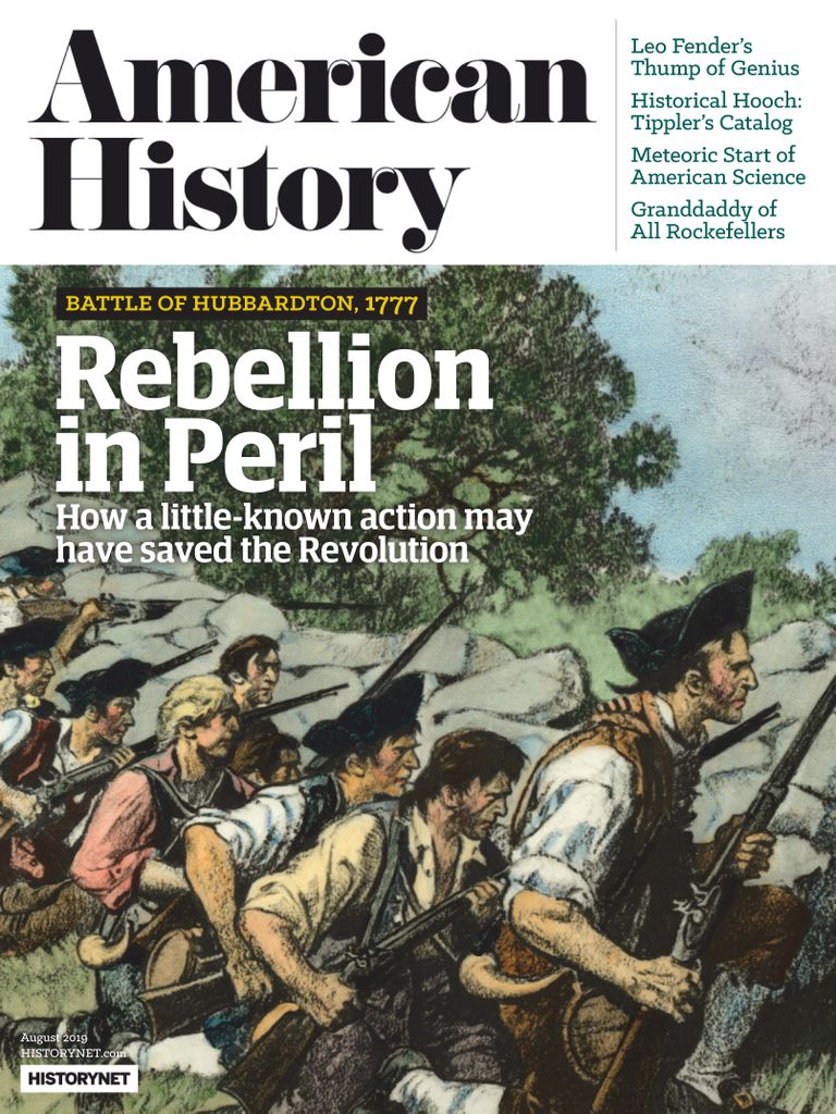 American History – August 2019
