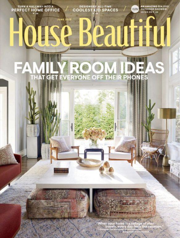 House Beautiful USA – June 2019