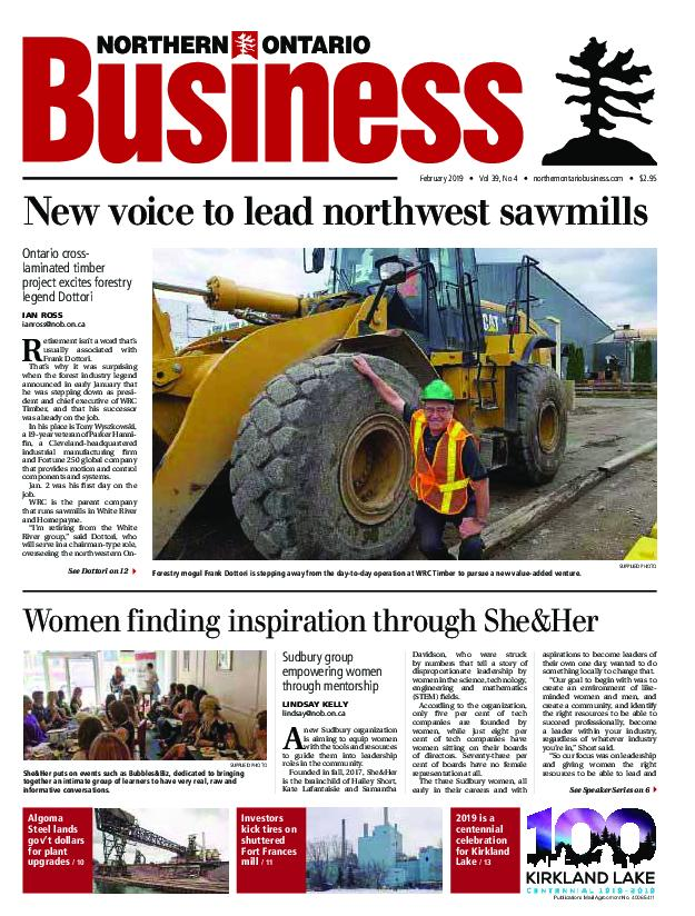 Northern Ontario Business – February 2019