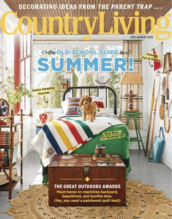 Country Living USA – July 2019