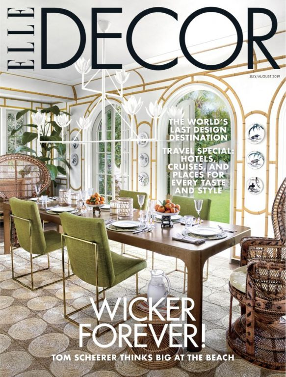 Elle Decor USA – July 2019