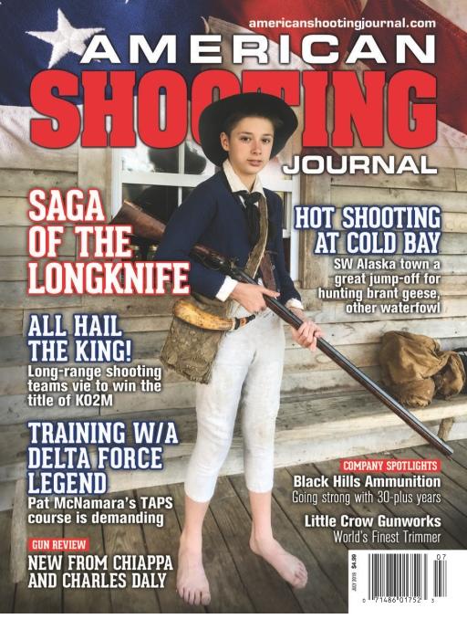 American Shooting Journal – July 2019