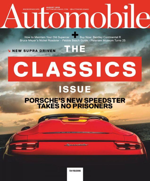 Automobile USA – August 2019