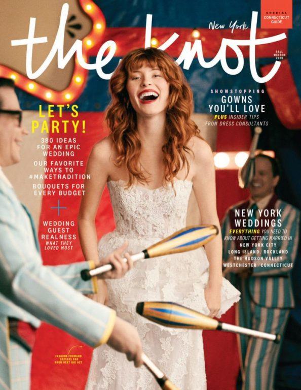 The Knot New York Metro Weddings Magazine – July 2019