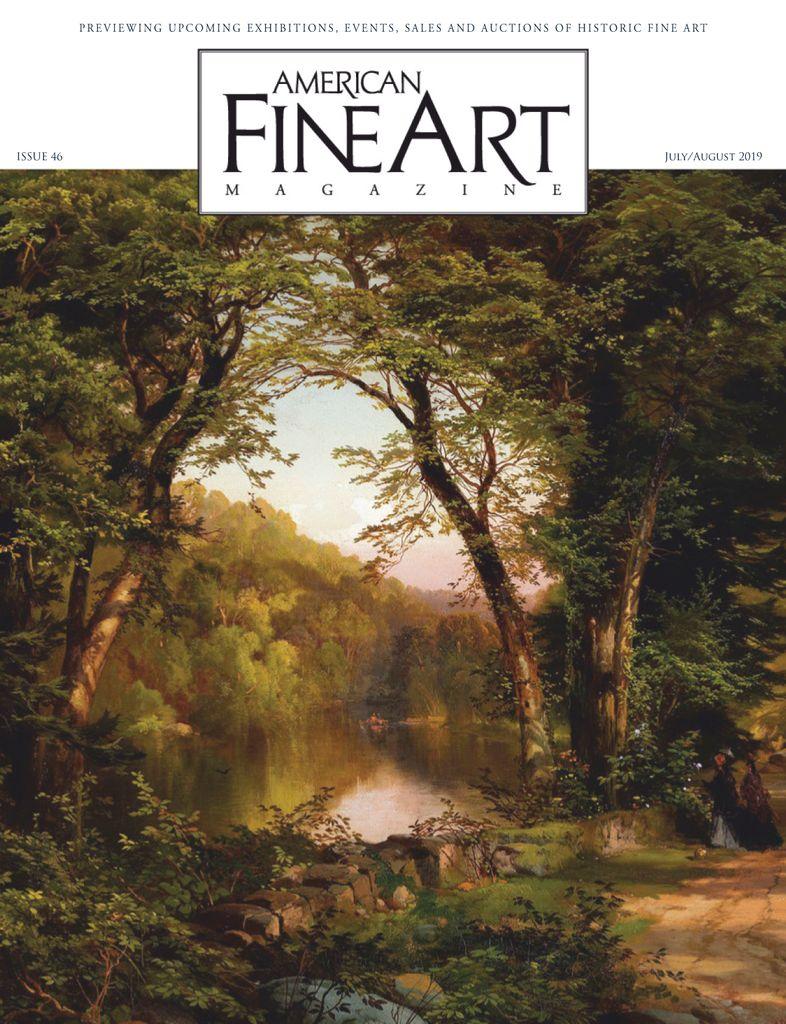 American Fine Art – July-August 2019