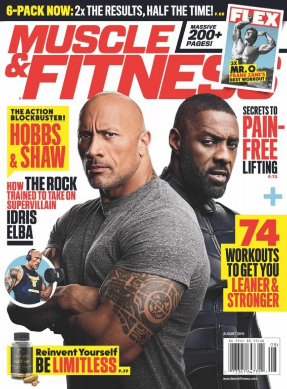Muscle & Fitness USA – August 2019