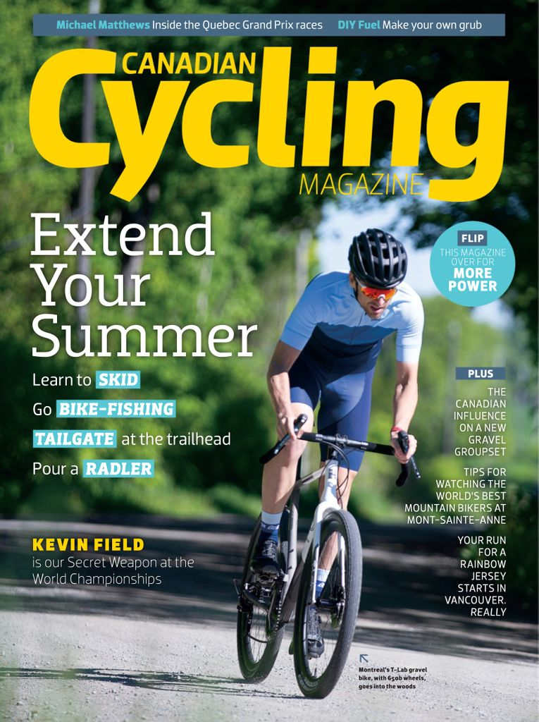 Canadian Cycling – July-August 2019