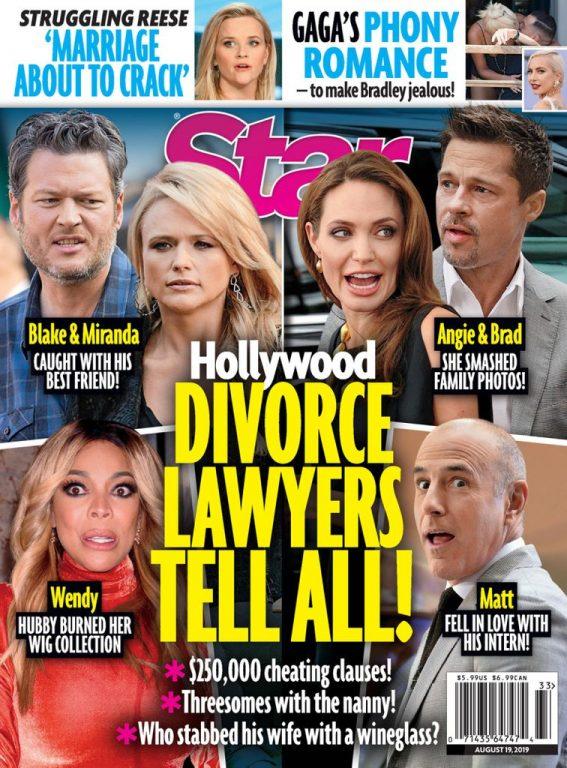 Star Magazine USA – August 19, 2019