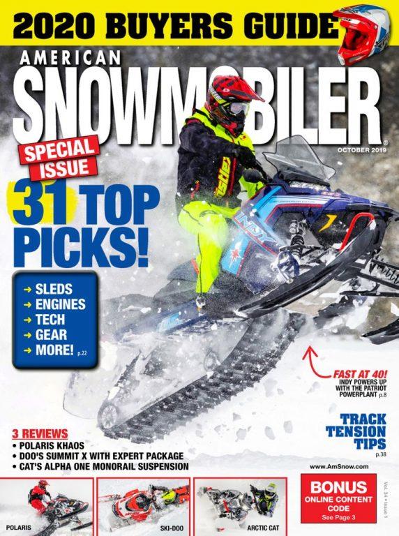 American Snowmobiler – October 2019
