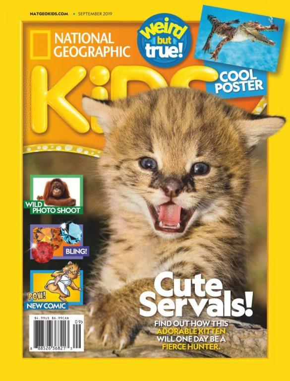 National Geographic Kids USA – September 2019