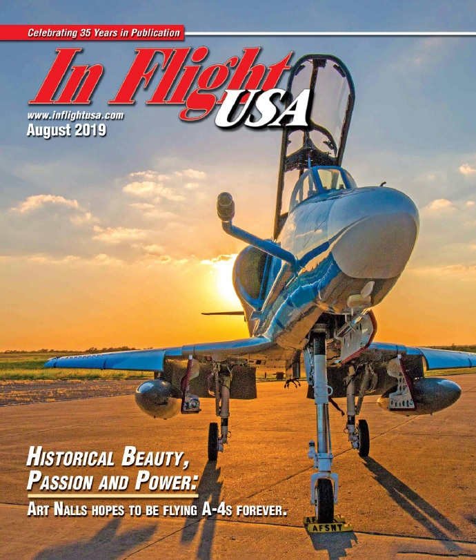 In Flight USA – August 2019