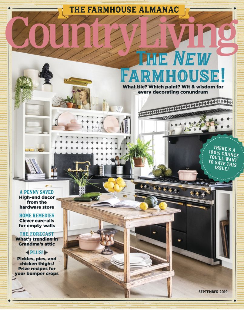 Country Living USA – September 2019