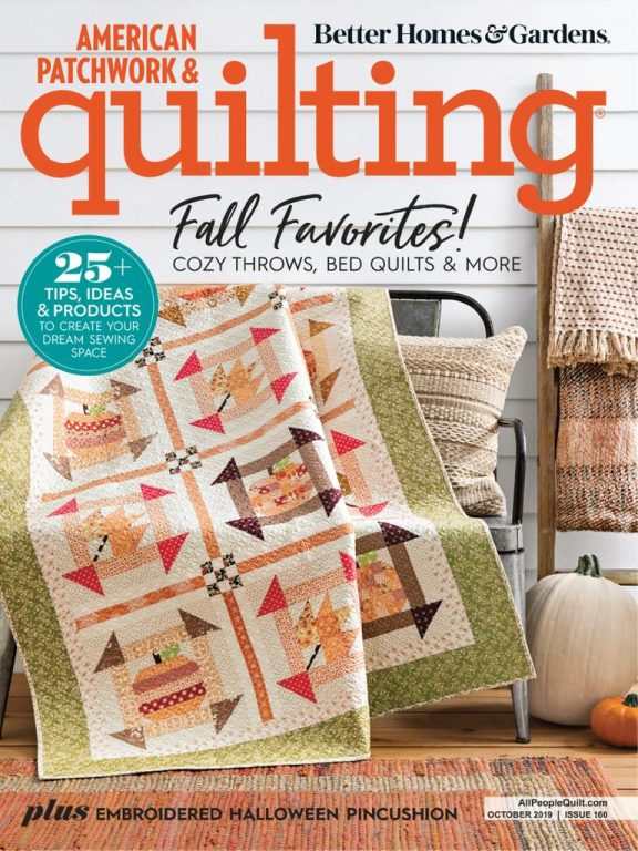American Patchwork & Quilting – October 2019