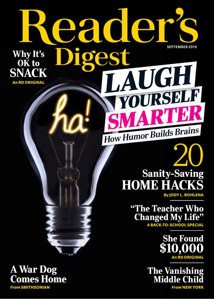 Reader's Digest USA – September 2019
