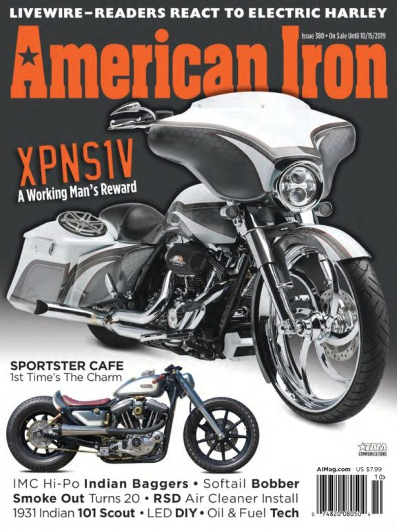 American Iron Magazine – September 2019
