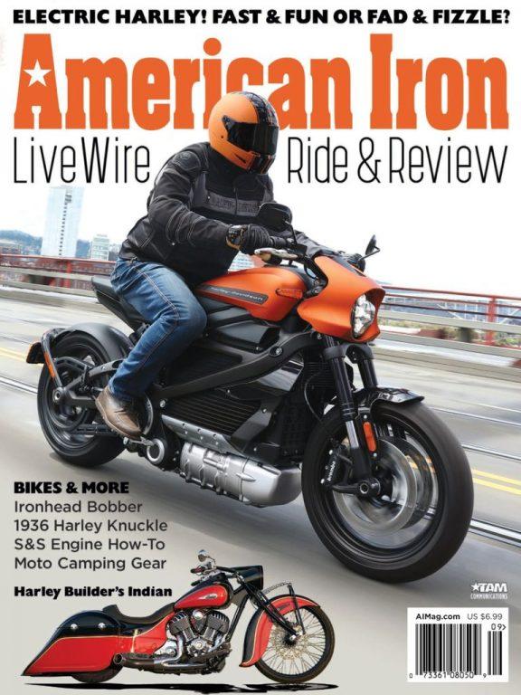 American Iron Magazine – August 2019