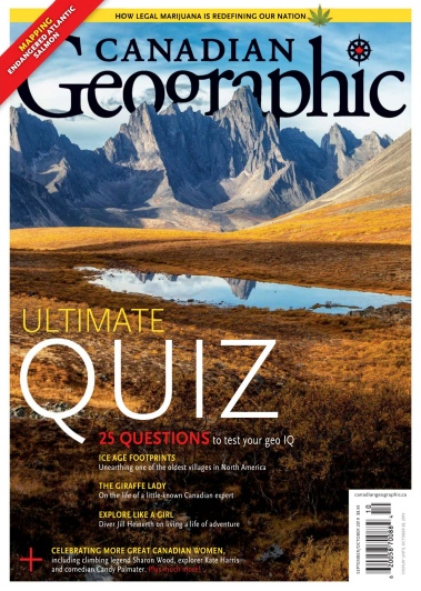 Canadian Geographic – September-October 2019