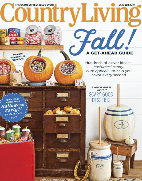 Country Living USA – October 2019
