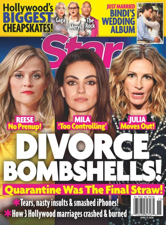 Star Magazine USA – April 13, 2020