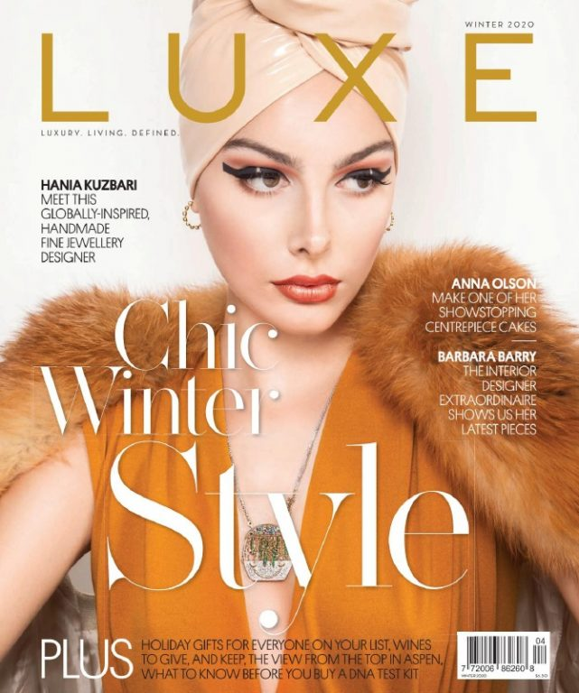 Luxe Magazine Canada – Winter 2019-2020