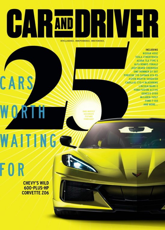 Car And Driver USA – May 2020
